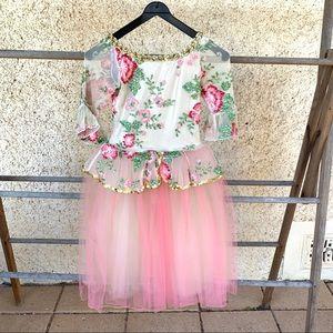 A Wish Come True Ballet Costume Romantic Tutu ISC